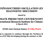 Amarillo NWS discusses El Nino forecast