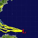 Tropical development possible, not likely, from latest storm cluster