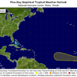 First tropical wave in many weeks may develop, still no threat to U.S.