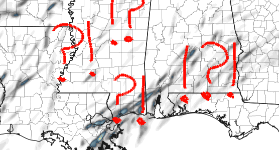 Overnight Model Data: Latest on severe weather threat for Jan 2 in South