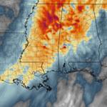 Forecast update on Slight Risk for South Mississippi
