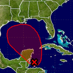 Tropical development in the Gulf of Mexico now very likely