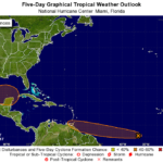 "Low pressure development ""expected"" in Gulf of Mexico"