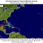 National Hurricane Center increases chances for development in Gulf