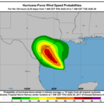 Harvey forecast to become Major Hurricane before Texas landfall